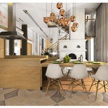 Фото из портфолио Загородный дом Санкт-Петербург – фотографии дизайна интерьеров на INMYROOM