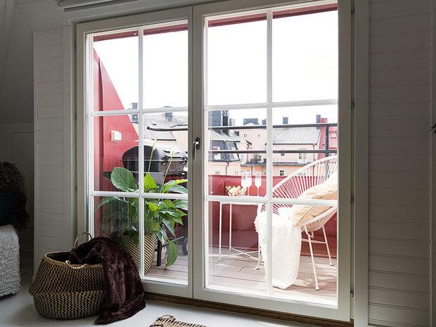 Фотография: Балкон в стиле Скандинавский, Прованс и Кантри, Декор интерьера, Квартира, Швеция, Стокгольм, 3 комнаты – фото на INMYROOM
