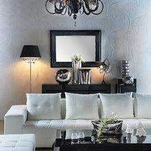 Фотография: Гостиная в стиле Классический, Современный, Эклектика, Декор интерьера, Квартира, Дом, Дизайн интерьера, Цвет в интерьере – фото на InMyRoom.ru