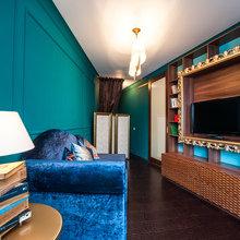Фото из портфолио Сложная треуголная комната – фотографии дизайна интерьеров на INMYROOM