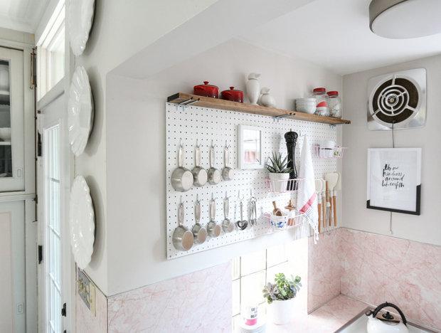 Фотография: Кухня и столовая в стиле Скандинавский, Советы, хранение на кухне – фото на InMyRoom.ru