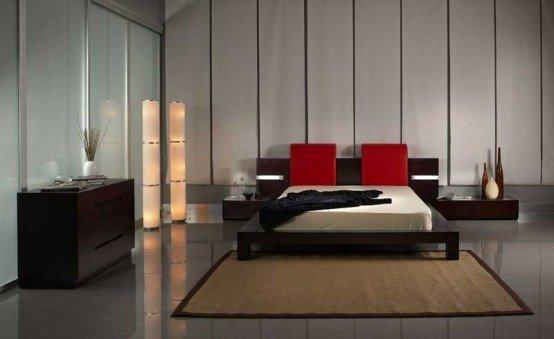 Фотография: Прочее в стиле , Спальня, Декор интерьера, Интерьер комнат, Цвет в интерьере, Красный – фото на InMyRoom.ru