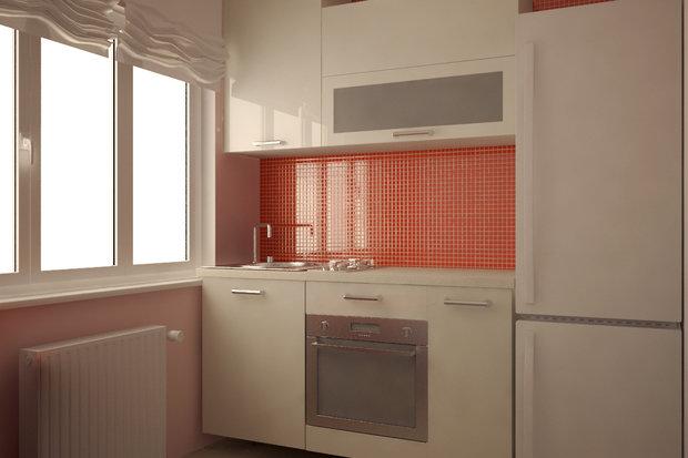 Фотография: Кухня и столовая в стиле , Современный, Малогабаритная квартира, Квартира, Дома и квартиры – фото на InMyRoom.ru