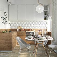 Фото из портфолио Небольшая кухня в Санкт-Петербурге – фотографии дизайна интерьеров на INMYROOM