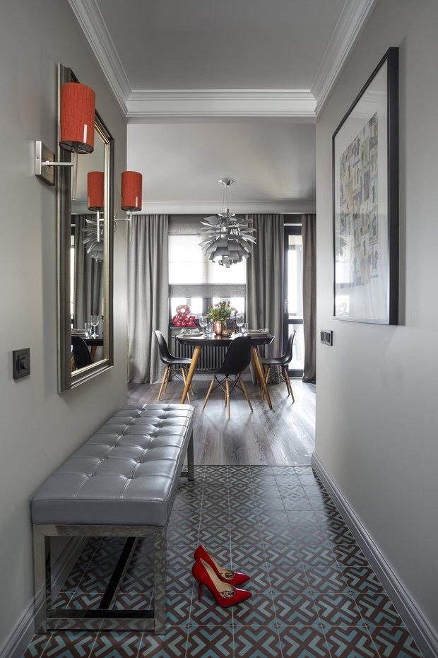 Фотография: Прихожая в стиле Эклектика, Кухня и столовая, Гостиная, Карта покупок, Женя Жданова – фото на INMYROOM