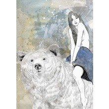 Принт Bear ride A2
