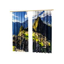 Живописные фотошторы: На горе