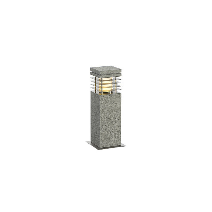 Уличный светильник SLV Arrock Granite 40 серо-белый