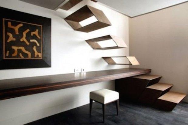 Фотография:  в стиле Современный, Декор интерьера, Декор дома, Лестница – фото на InMyRoom.ru
