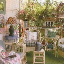 Фотография: Балкон в стиле Кантри, Декор интерьера, Декор дома, Прованс – фото на InMyRoom.ru