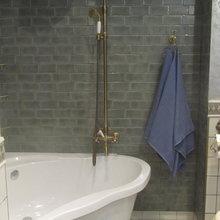Фотография: Ванная в стиле , Квартира, Дома и квартиры – фото на InMyRoom.ru