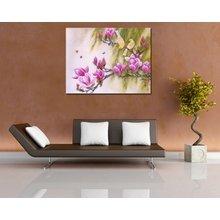 Декоративная картина на холсте: Весенний этюд