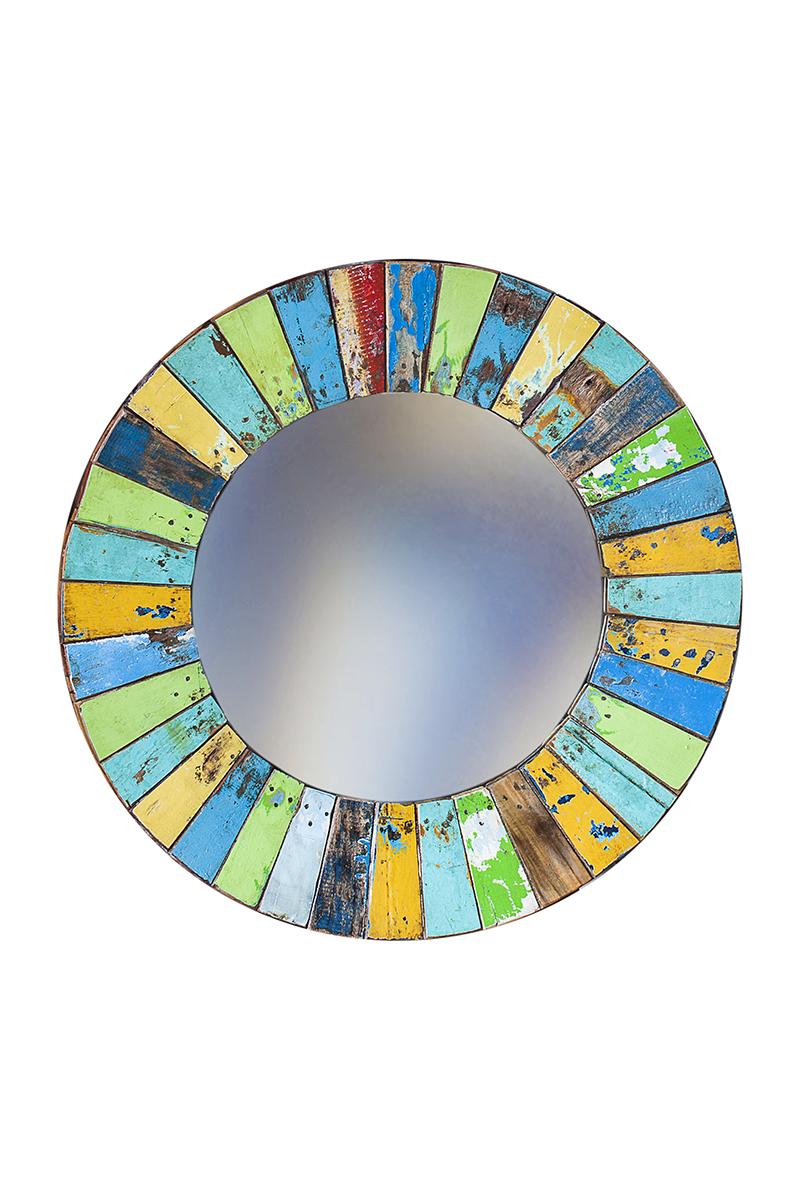 Купить Зеркало круглое Колобок , inmyroom, Индонезия