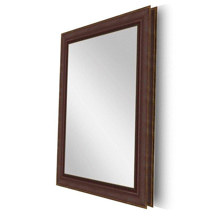"Зеркало в раме ""Аура - Красное дерево"""