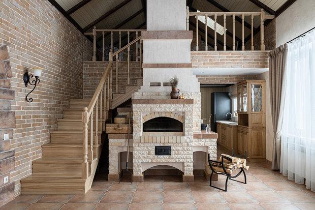 """Фото из портфолио Проект загородного гостевого дома """"Для души"""" – фотографии дизайна интерьеров на INMYROOM"""