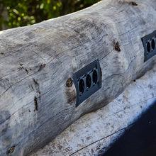 Фотография: Декор в стиле Кантри, Современный, Дом, Ландшафт, Стиль жизни, Дача, Дачный ответ, Беседка – фото на InMyRoom.ru