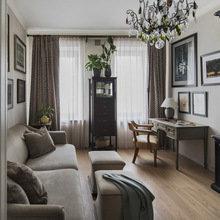 Фотография: Гостиная в стиле Кантри, Декор интерьера, Мебель и свет, Проект недели, Лена Ленских – фото на InMyRoom.ru