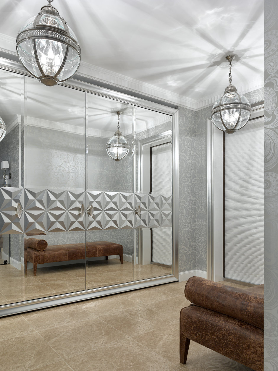Фотография: Прихожая в стиле Классический, Современный, Пентхаус, Минск, Монолитный дом, 2 комнаты, Более 90 метров, #эксклюзивныепроекты, «Бахарев и партнеры» – фото на InMyRoom.ru