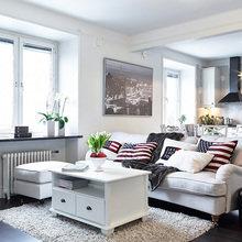 Фотография: Гостиная в стиле Кантри, Декор интерьера, Квартира, Дом, Аксессуары, Декор – фото на InMyRoom.ru