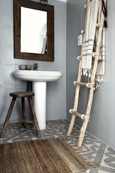 Фотография: Ванная в стиле Скандинавский, Декор интерьера, Дом, Хранение, Декор, Декор дома – фото на InMyRoom.ru