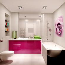 Фото из портфолио Квартира-студия для девушки – фотографии дизайна интерьеров на InMyRoom.ru