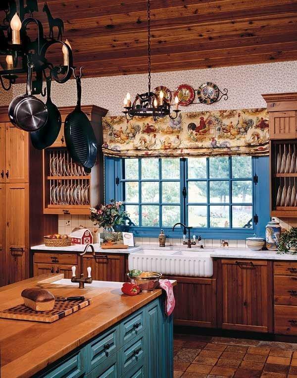 Фотография: Кухня и столовая в стиле Прованс и Кантри, Декор интерьера, Квартира, Декор, Советы, Подоконник, Окно – фото на InMyRoom.ru