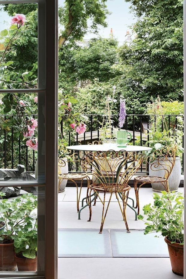 Фотография: Балкон в стиле Прованс и Кантри, Декор интерьера, Дом, Дача – фото на InMyRoom.ru