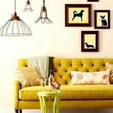 Фото из портфолио Желтый цвет в интерьере: акценты на деталях – фотографии дизайна интерьеров на INMYROOM