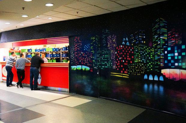 """Фото из портфолио Роспись интерьера в ресторане """"Манхэттен"""" – фотографии дизайна интерьеров на INMYROOM"""