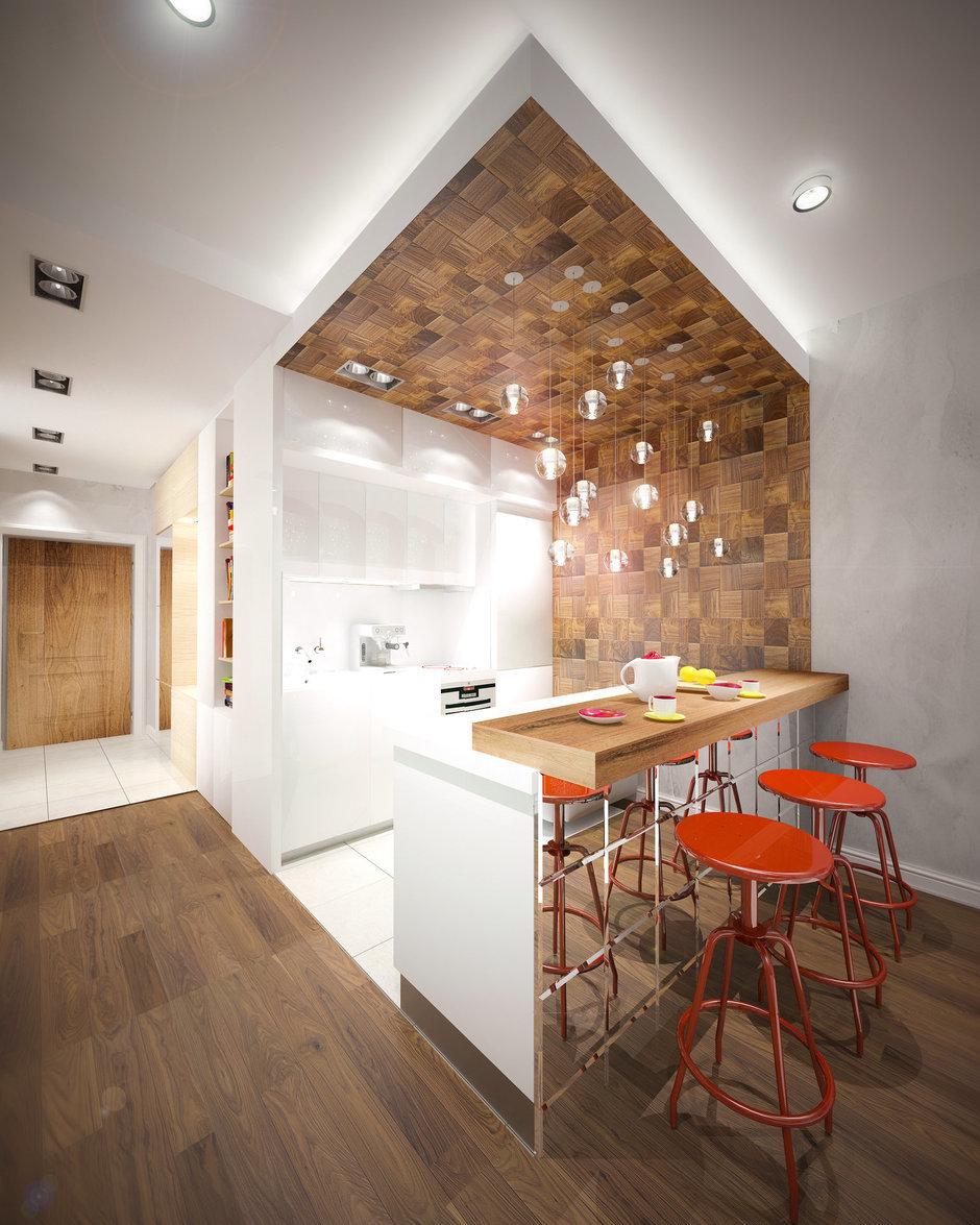 Фотография: Кухня и столовая в стиле Современный, Декор интерьера, Квартира, Дома и квартиры, Проект недели – фото на InMyRoom.ru