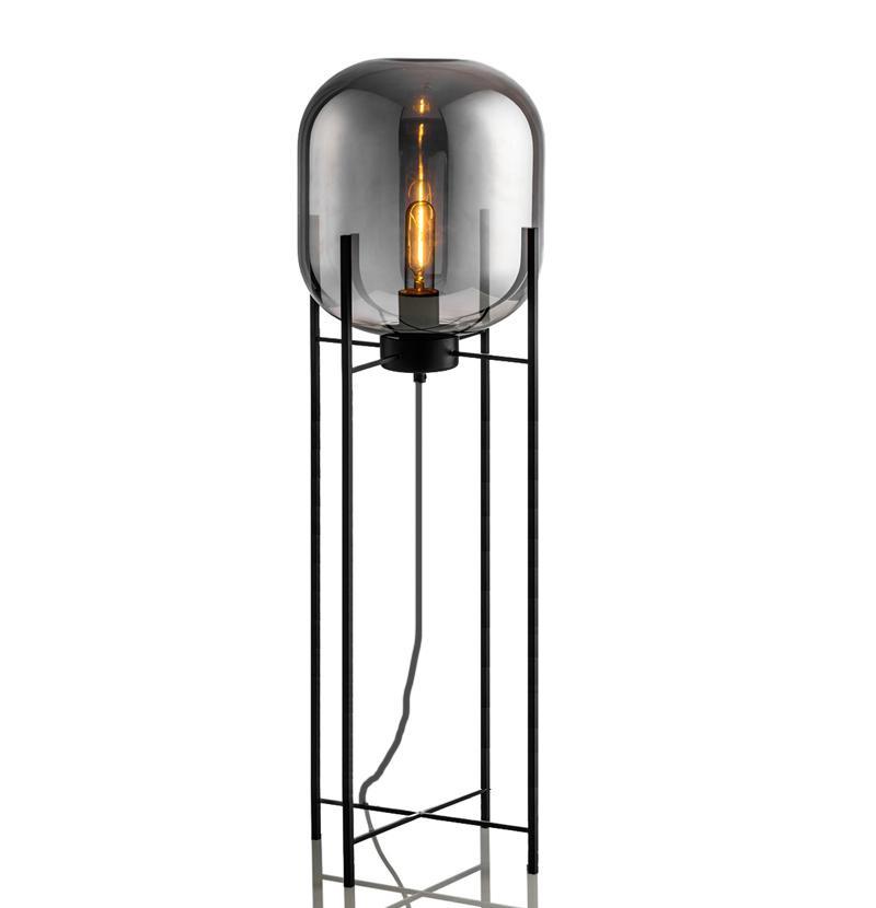 Купить со скидкой Торшер Globe со стеклянным плафоном