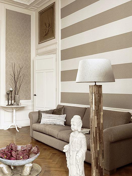 Фотография: Гостиная в стиле Прованс и Кантри, Декор интерьера, Декор дома, Обои – фото на InMyRoom.ru