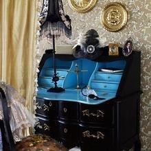 Фотография: Мебель и свет в стиле Классический, Кабинет, Интерьер комнат, Системы хранения – фото на InMyRoom.ru