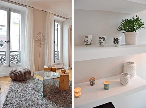 Фотография: Кухня и столовая в стиле Современный, Классический, Малогабаритная квартира, Квартира, Дома и квартиры, Париж – фото на InMyRoom.ru
