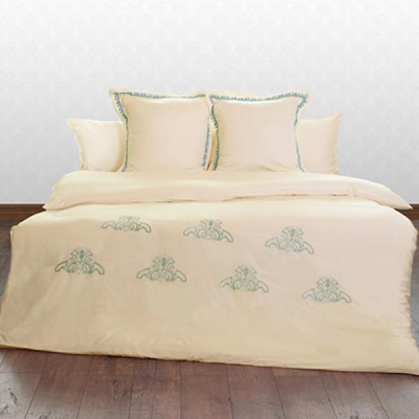Комплект постельного белья «брюво» молочный 150х220