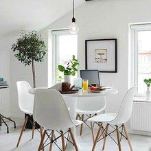 Фотография: Кухня и столовая в стиле Лофт, Скандинавский, Интерьер комнат, Обеденная зона – фото на InMyRoom.ru