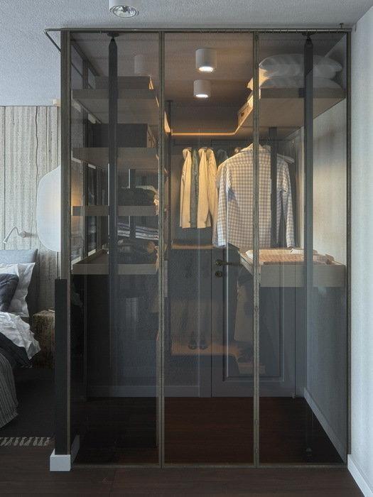 Фотография: Гардеробная в стиле Современный, Спальня, Советы – фото на INMYROOM