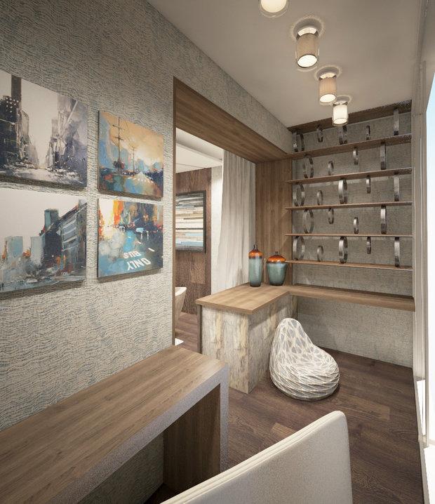 Фото из портфолио Интерьер двухкомнатной квартиры – фотографии дизайна интерьеров на INMYROOM