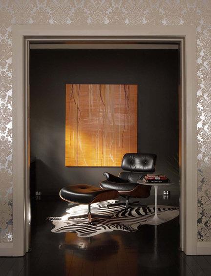 Фотография: Кабинет в стиле Эклектика, Декор интерьера, Декор дома, Цвет в интерьере, Ковер, Геометрия в интерьере – фото на INMYROOM