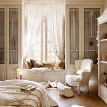 Фотография: Спальня в стиле Кантри, Классический, Декор интерьера, Дом, Аксессуары, Декор, Белый – фото на InMyRoom.ru