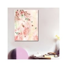 Декоративная картина на холсте: Нежный цвет