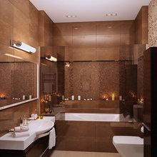 Фотография: Ванная в стиле Современный, Восточный, Квартира, Дома и квартиры – фото на InMyRoom.ru