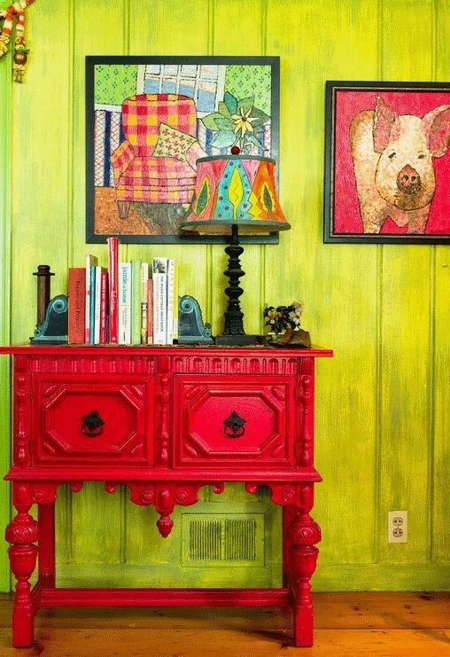 Фотография: Декор в стиле Восточный, Эклектика, Декор интерьера, Дом, Декор дома, Цвет в интерьере – фото на InMyRoom.ru