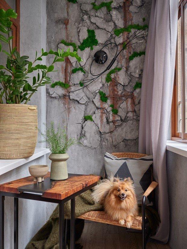 Фотография: Балкон в стиле Современный, Лофт, Малогабаритная квартира, Квартира, Студия, Проект недели, Москва, до 40 метров, Дина Удальцова – фото на INMYROOM