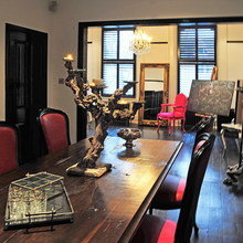 Фотография: Кухня и столовая в стиле Кантри, Эклектика, Дом, Дома и квартиры – фото на InMyRoom.ru