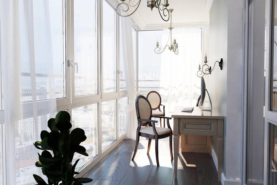 Фотография: Балкон, Терраса в стиле Классический, Квартира, Дома и квартиры, Проект недели – фото на InMyRoom.ru