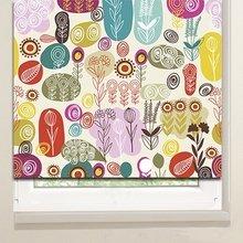 Рулонные шторы: Полевые цветочки