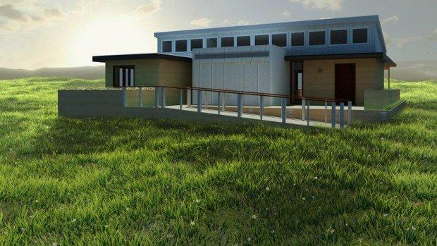 Фотография: Архитектура в стиле Современный, Дом, Дома и квартиры, Архитектурные объекты – фото на InMyRoom.ru