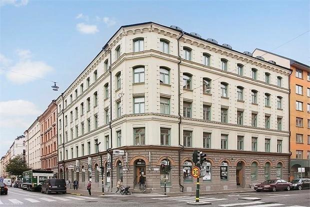 Фотография: Архитектура в стиле , Скандинавский, Малогабаритная квартира, Квартира, Швеция, Дома и квартиры, Стокгольм – фото на InMyRoom.ru