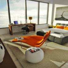 Фото из портфолио Апартаменты для бизнесмена – фотографии дизайна интерьеров на INMYROOM